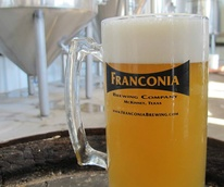 Franconia Brewing Co. wheat beer