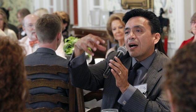 Tony Diaz at Center for Houston's Future event August 2014