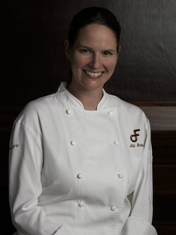 Pastry chef Jill Bates of Fearing's restaurant in Dallas