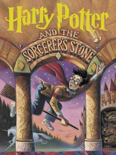 Harry Potter, The Sorcerer's Stone, first book