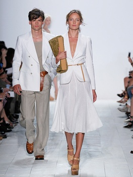 Fashion Week spring summer 2014 Michael Kors Look 1,2