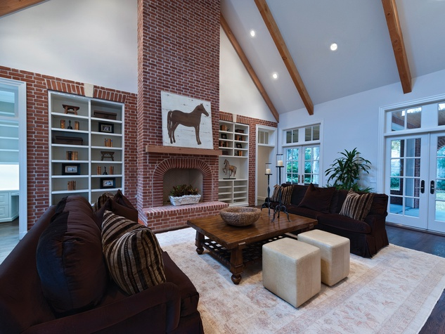 On the Market 1740 South Boulevard October 2014 family room