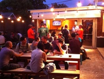 Whitney Radley: Revamped Heights ice house is a craft beer and food truck Drive Inn haven — and it's not too hip