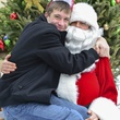 12 Charlie Hartland and  Santa at Mission of Yahweh's gift-giving celebration December 2013