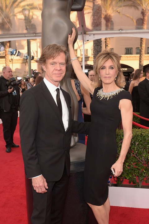 William H. Macy and Felicity Huffman at Screen Actors Guild Awards
