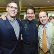 Larry Blackburn, from left, Adrian Garcia and Franco Valobra at the Crime Stoppers luncheon May 2014