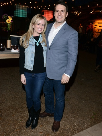 Tiffany McNutt, Clay McNutt, RMHD Young Friends Party