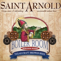 Boiler Room Berliner Weisse by Saint Arnold Brewing Co