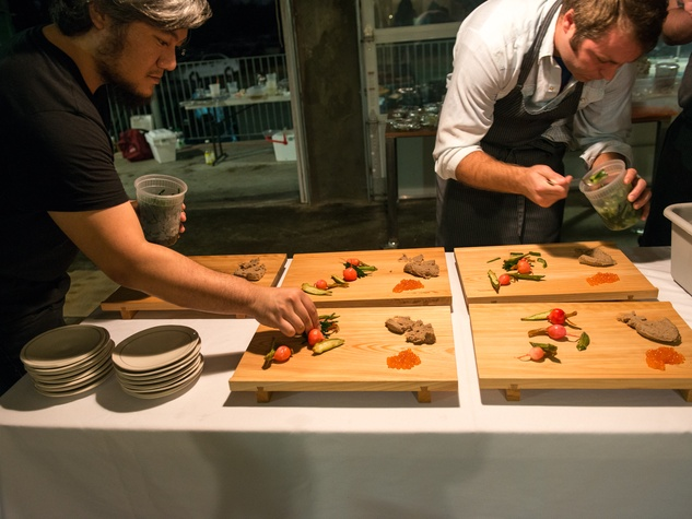Make Eat Drink in Austin Shion Aikawa Michael Fojtasek Plating