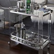 Mitchell Gold + Bob Williams Melrose Bar Cart 25th anniversary piece October 2014