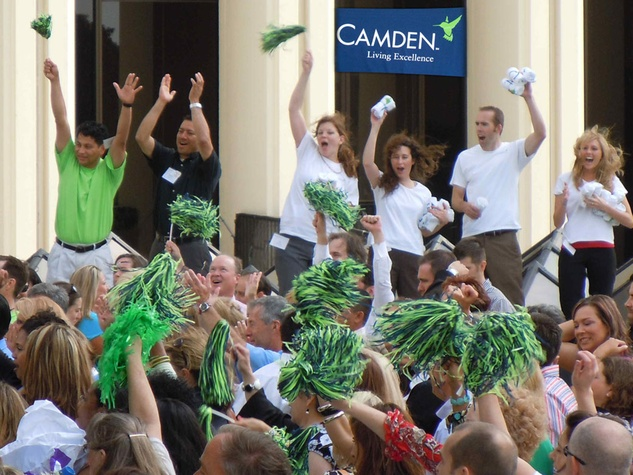 Camden Property Trust, crowd