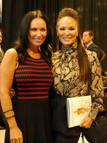 LeeAnne Locken (THE FASHIONISTAS), Tiffany Hendra (Sanctuary of Style), nicky hilton book signing