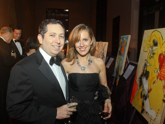 News_Houston Ballet Ball_February 2012_Stephen Newman_Katharine Newman
