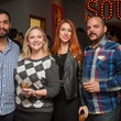 Woodford Reserve Movember Event at Kunst Gallery Eddie Portillo Ashley Bible Jessica Cox Jason Steward