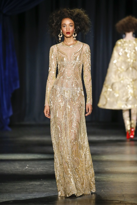 Naeem Khan fall 2016 collection Look 49