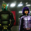 Aaron Taylor-Johnson and Chloe Grace Moretz in Kick-Ass 2