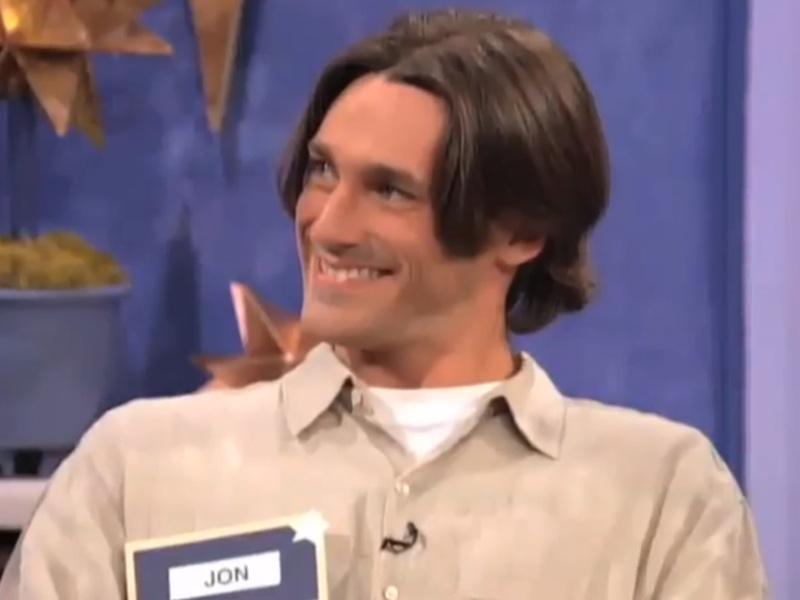 Jon hamm dating show rejection