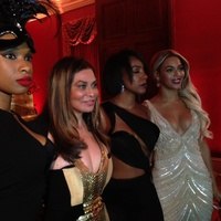 Tina Knowles 60th birthday party in New Orleans January 2014 Beyonce at mom's birthday party