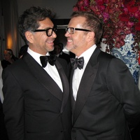 Ceron and Todd Fiscus at their wedding in New York
