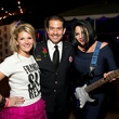 9 Jenna Jackson, from left, Adrian Garcia and Kristi Schiller. at the K9s 4 Cops benefit November 2014