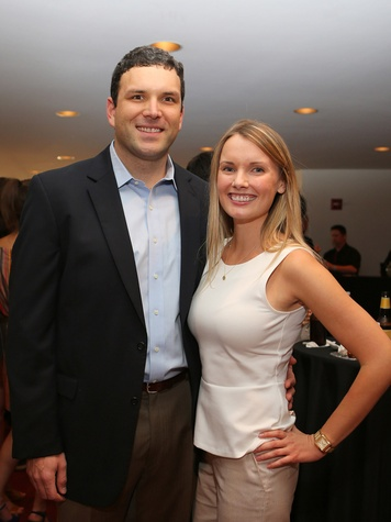 Alley Theatre Young Professionals Kick-Off June 2013 Joel Glover, Julie Stephenson