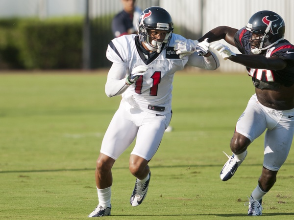 DeVier Posey Texans camp