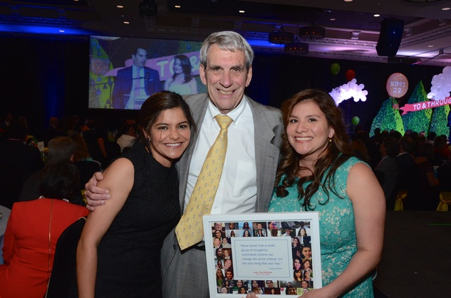 KIPP Houston dinner 4/16,  Vanessa Ramirez, Ned Becker, Lupita Talley