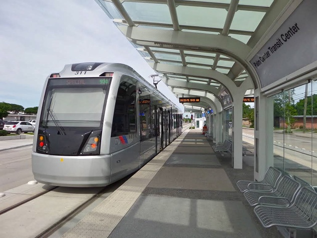Metro Light Rail East End / EaDo Palm Center Transit Center 2