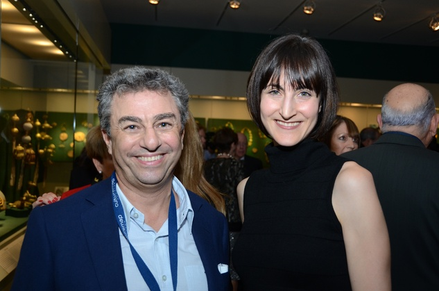 Michael Zilkha and Emily Church at the Houston Cinema Arts Festival opening night party November 2013