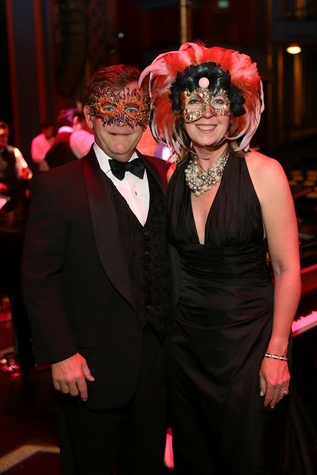 Tuts Gala 2015 Cynthia & Wiley George