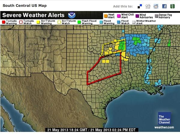 weather channel radar dallas tx