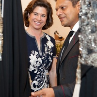 Naeem Khan at Tootsies April 2013 Windi Grimes, Naeem Khan