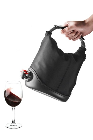 Menu Baggy Winecoat wine bag