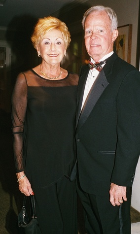 020A Karen and Tom Brasher at the In Rice's Honor dinner October 2014