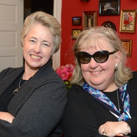 14 Mayor Annise Parker, left, and Cindy Clifford at Cindy Clifford's birthday bash November 2014