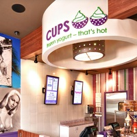 CUPS Frozen Yogurt location