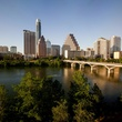 Austin, Texas, skyline, downtown