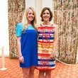 Catherine Willingham, left, and Lori Willey at the Blue Bird Circle Luncheon May 2014