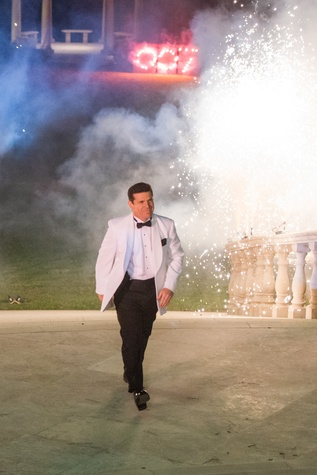 James Bond leading the scene of the crime at the True Blue Gala November 2014