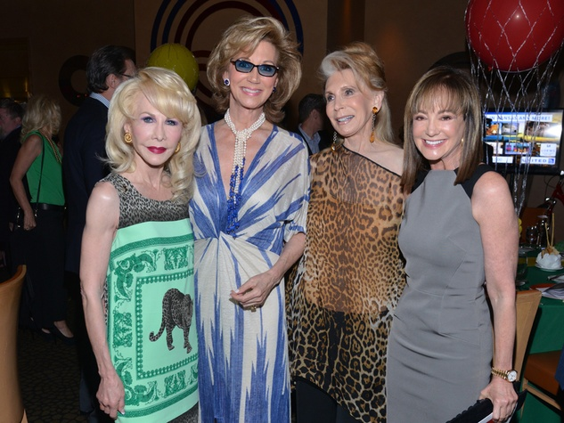 12S Diane Lokey Farb, from left, Frann Lichtenstein, Joan Schnitzer Levy and Janet Gurwitch at the Emerald City ESCAPE Celebrity Serve Benefit April 2014