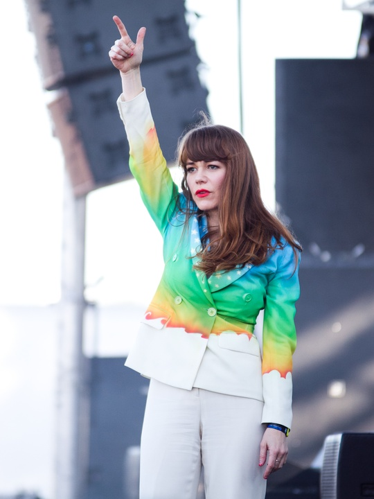Austin City Limits Festival ACL 2014 Weekend One Day Three Jenny Lewis