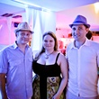 17 Bill Tatman, from left, Heather O'Keefe and Will Olterman at A Night in Havana July 2014
