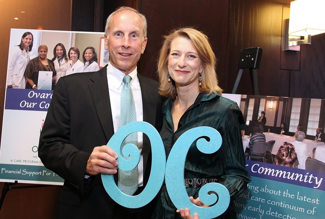 7 Gary and Debbie Pate at the Ovarcome Gala May 2014