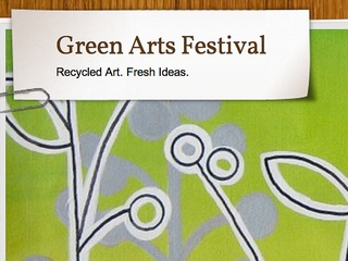 News_Green Arts Festival_poster
