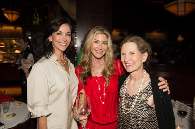 87 Houston Ballet Nutcracker kickoff 2013 Lynn Zeid, Patti Murphy and Sally Miller
