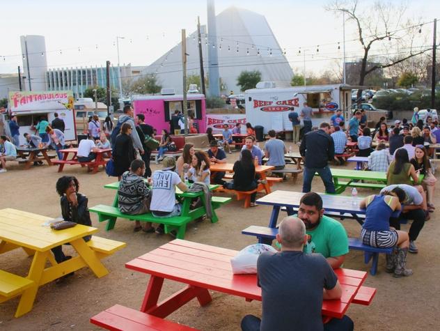 Food Truck Parks San Antonio Texas