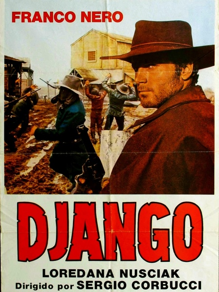 Django Unchained 2012 Movie Poster