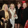 15 Judi McGee, from left, Sidney Faust, Cora Sue Mach and Elsie Eckert at Houston Treasures dinner December 2013