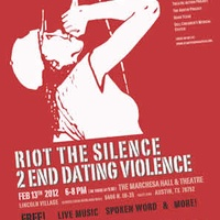 Austin photo: Event_RiotSilence_Poster