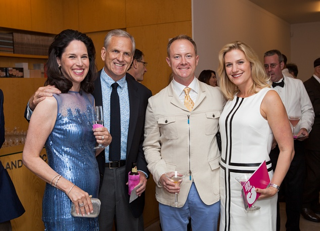 45 Kim and Richard Lucas, from left, and Billy and Christy McCartney at the Blaffer Gala May 2014